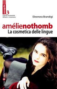 Amélie Nothomb - La cosmetica delle lingue - copertina