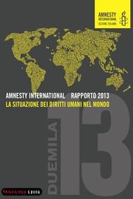 AMNESTY INTERNATIONAL RAPPORTO 2013 - La situazione dei diritti umani nel mondo - copertina