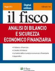 Analisi di bilancio e sicurezza economica e finanziaria - copertina