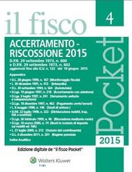 Accertamento e riscossione 2015 - copertina