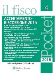 Accertamento e riscossione 2015 - Librerie.coop