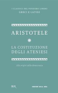 La costituzione degli ateniesi - copertina