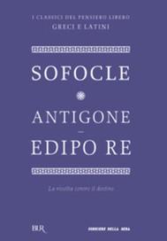 Antigone - Edipo re - copertina