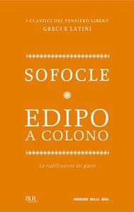 Edipo a Colono - copertina