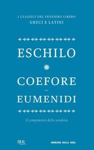 Coefore ed Eumenidi - copertina