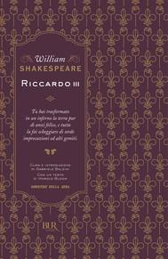 Riccardo III - copertina