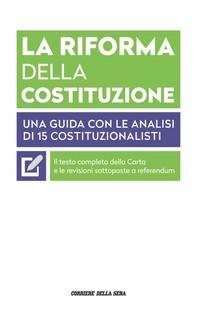 La riforma della Costituzione - Librerie.coop