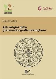 Alle Origini Della Grammaticografia Portoghese - copertina