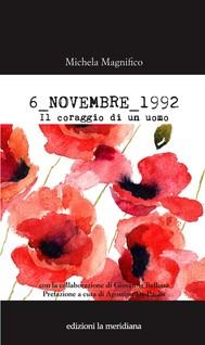 6 NOVEMBRE 1992 - copertina
