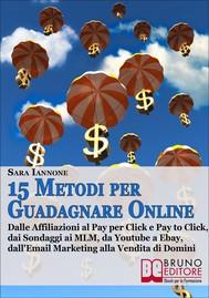 15 Metodi Per Guadagnare Online - copertina