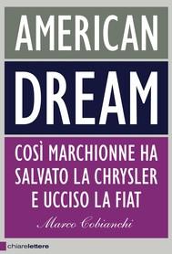American dream - copertina