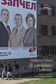 Il candidato lettone - copertina