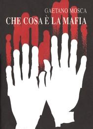 Che cos'è la mafia - copertina