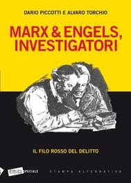 Marx & Engels, investigatori. Il filo rosso del delitto - copertina