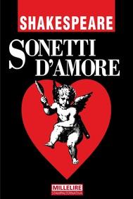 SONETTI D'AMORE - copertina
