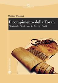 Il compimento della Torah - copertina