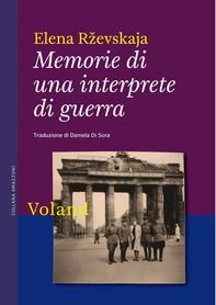Memorie di una interprete di guerra - Librerie.coop