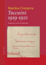 Taccuini 1919-1921 - copertina