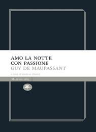 Amo la notte  con passione - copertina