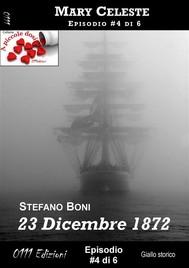 23 Dicembre 1872 - Mary Celeste ep. #4 - copertina