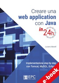 Creare una web application con Java in 24h - copertina