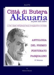 Antologia del Premio Letterario Fortunato Pasqualino - copertina