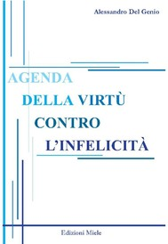 Agenda della virtù contro l'infelicità - copertina