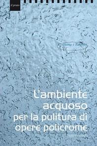 L'ambiente acquoso per il trattamento di opere policrome - Librerie.coop
