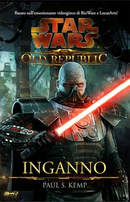 Star Wars The Old Republic Inganno - copertina