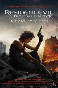 Resident Evil: The Final Chapter - copertina