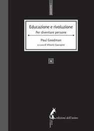 Educazione e rivoluzione. Per diventare persone - copertina