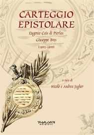Carteggio epistolare (1892-1899). Cais di Pierlas-Bres - copertina