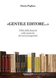 «Gentile Editore…» - copertina