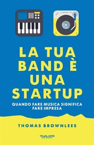 La tua band è una start up - copertina