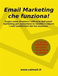 Email marketing che funziona. la guida che ti svela come utilizzare l'email marketing per aumentare le vendite e ridurre i costi del tuo business - copertina