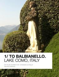 1 / To Balbianello - copertina