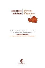 Aforismi d'autunno - copertina