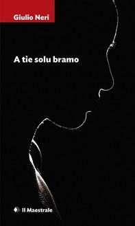A TIE SOLU BRAMO - Librerie.coop
