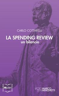 La Spending Review: un bilancio - Librerie.coop