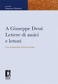 A Giuseppe Dessí. Lettere di amici e lettori - copertina