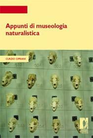 Appunti di museologia naturalistica - copertina