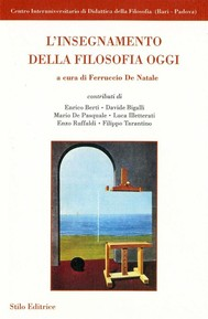L'insegnamento della filosofia oggi - copertina