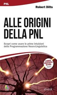 Alle origini della PNL - copertina