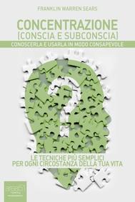 Concentrazione (conscia e subconscia) - copertina