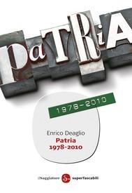 Patria 1978-2010 - copertina