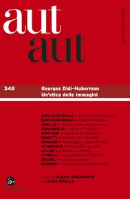 Aut aut 348 - Georges Didi-Huberman. Un'etica delle immagini - copertina