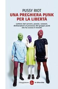 Una preghiera punk per la libertà - copertina