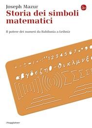 Storia dei simboli matematici - copertina