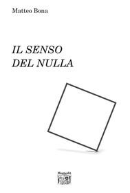 Il senso del nulla - copertina