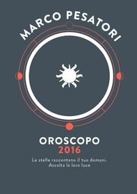 Oroscopo 2016 - Librerie.coop